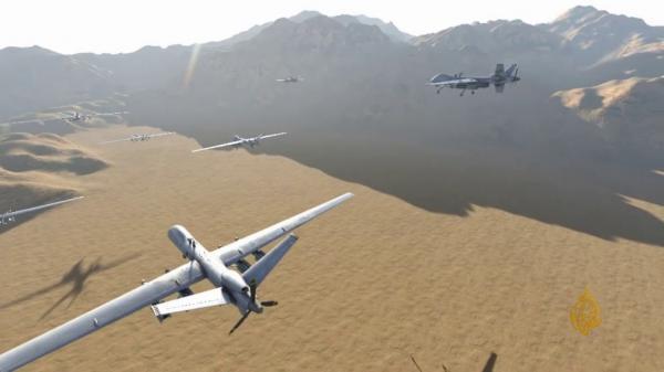 في تصعيد جديد...الحوثيون يشنون أكبر هجوم بالطائرات المسيرة على المملكة السعودية