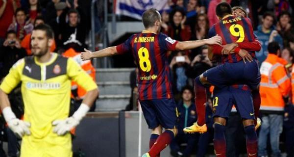"""بالفيديو - برشلونة يكسب """"دربي كاتالونيا"""" ضد إسبانيول بشق الانفس"""
