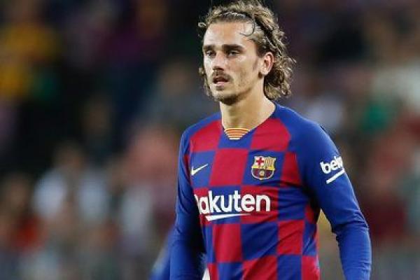 """إصابة """"غريزمان"""" تهدد مستقبله مع """"برشلونة"""""""