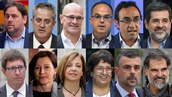 محاكمة تاريخية في مدريد لقادة الانفصال بجهة كتالونيا