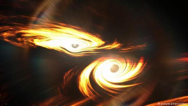 انصهار ثقبين أسودين ـ رصد أكبر حدث كوني منذ الانفجار العظيم