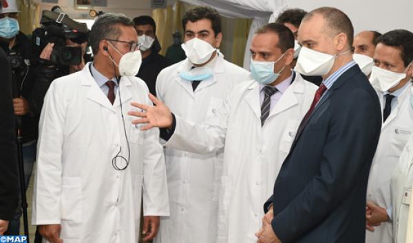 جامعة محمد السادس لعلوم الصحة بالدار البيضاء تقيم وحدة للتكفل بالمصابين بفيروس كوفيد -19