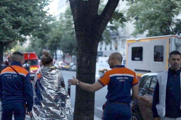 مقتل شخص وإصابة 9 آخرين إثر اندلاع حريق بمستشفى في ضواحي باريس