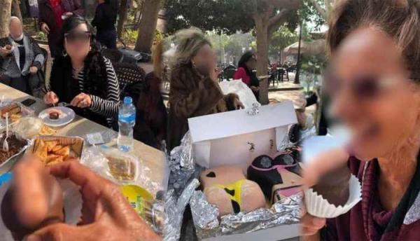 """جدل كبير في مصر بعد انتشار صور""""حلوى جنسية"""" مقدمة خلال حفل أقامته سيدات ثريات"""