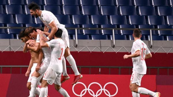المنتخب الإسباني يعبر حاجز اليابان ويواجه البرازيل في نهائي أولمبياد طوكيو