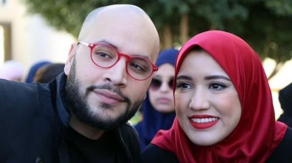 أبيضار تهاجم عبدالله أبوجاد بسبب تصريحاته المستفزة عن زوجته السابقة سارة