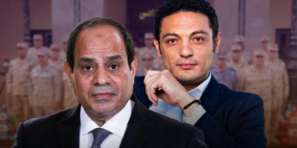 """في تصعيد غير مسبوق...الممثل الهارب """"محمد علي"""" يهدد """"السيسي"""" ويمهله 24 ساعة للتنحي وإلا..."""