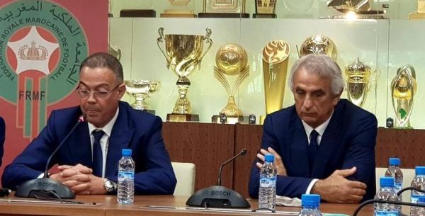 """بعد الأداء المخيب...أنباء عن اجتماع استثنائي بين """"لقجع"""" و""""حاليلودزيتش"""" وقرار الإقالة وارد جدا"""