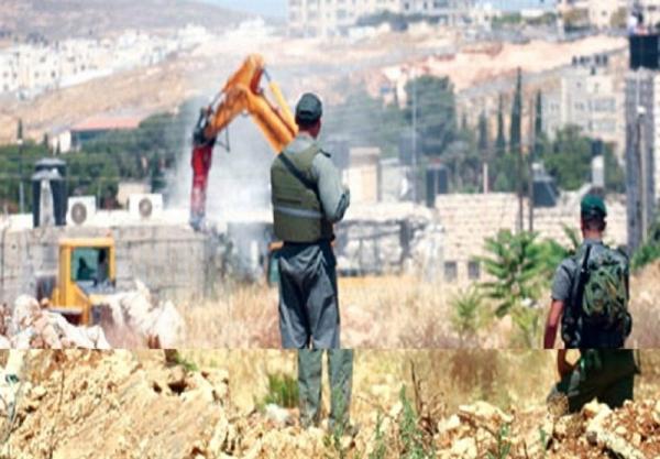 الاحتلال الإسرائيلي يهدم مساكن ومنشآت فلسطينية بالضفة الغربية والقدس
