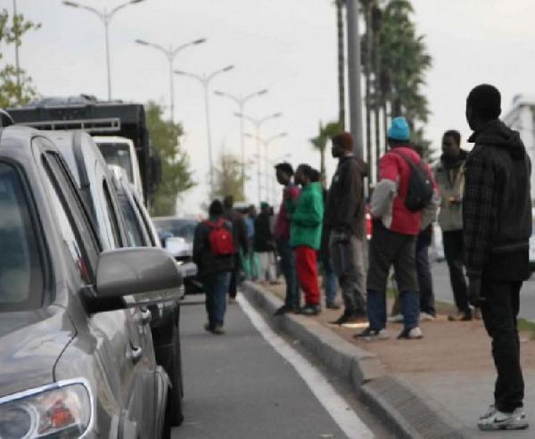 المتسولون الأفارقة أغرقوا مراكش وسط صمت السلطات
