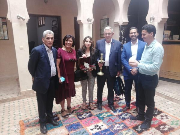 المجلس الإقليمي للسياحة بالحوز يستقبل وفدا عن اتحاد فيدرالية اليهود المغاربة بفرنسا وجمعية الصداقة المغربية الإسرائيلية (فيديو)