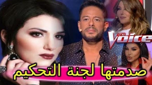 """فنانة مغربية تصاب بالصدمة بعد إخفاقها في برنامج """"ذا فويس"""" وتقرر الاعتزال"""