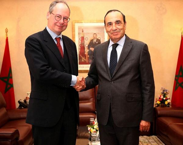المالكي يستقبل سفير النمسا بالمغرب ويتدارسان مواضيع مشتركة