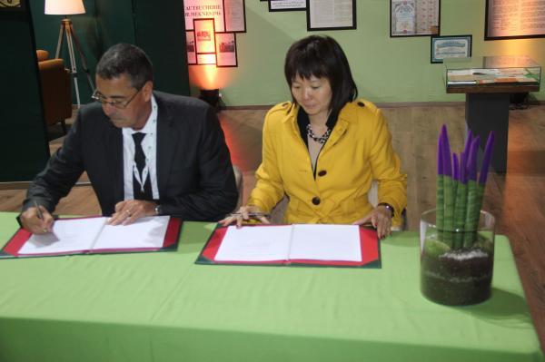 القرض الفلاحي يوقّع اتفاقية مع شركة التمويل الدولية (صور)