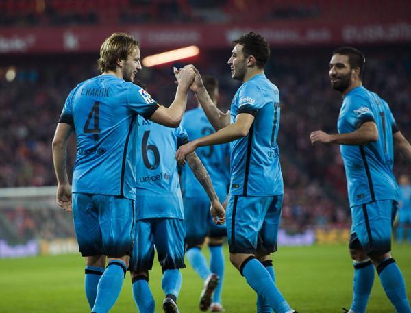راكيتيتش يقترب من مغادرة برشلونة