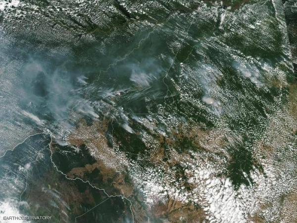 حرائق الأمازون تتسبب في ظلام دائم لبعض المدن