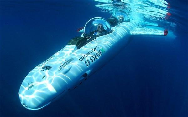 """الملك عبد الله الثاني استأجر """"ديب فلايت"""" لـ 6 أسابيع تحت الماء"""