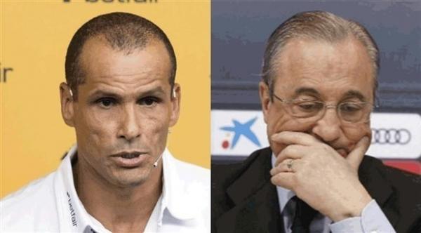 ريفالدو يطلق النار على رئيس ريال مدريد
