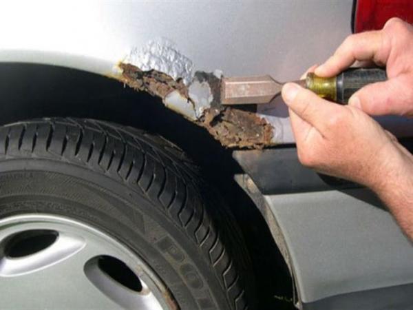 أسباب تكون الصدأ على هيكل السيارة وهذه كيفية منعه