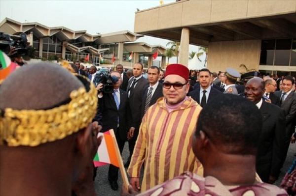"""الملك """"محمد السادس"""" يغادر المغرب باتجاه دولة إفريقية صديقة"""