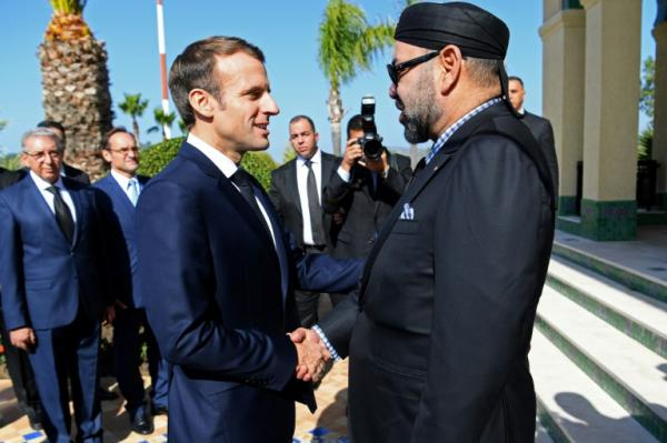 برقية تعزية من الملك محمد السادس إلى الرئيس الفرنسي
