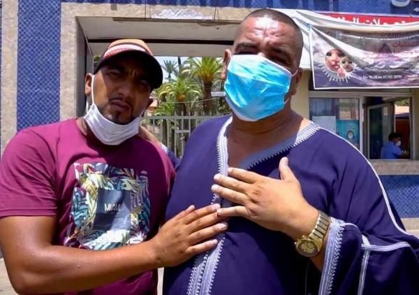 """""""نيبا"""" يغادر مستشفى المامونية بمراكش"""