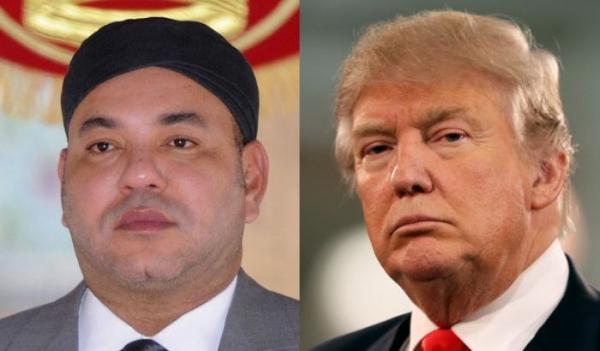 الملك محمد السادس يبعث برسالة مستعجلة إلى الرئيس الأمريكي دونالد ترامب