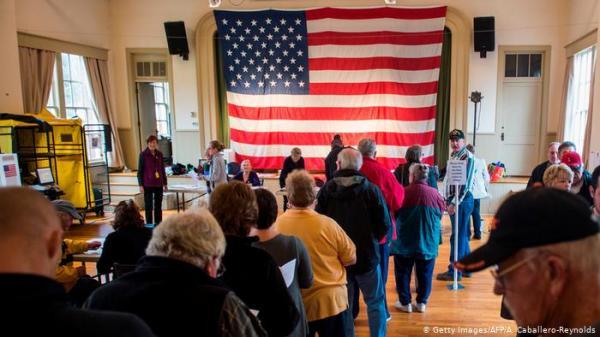 استخدام الهاتف المحمول للتصويت في انتخابات مقاطعة أمريكية