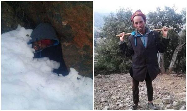 التفاصيل الكاملة لفاجعة موت راعي غنم بردا بعدما حاصرته الثلوج بإقليم تازة