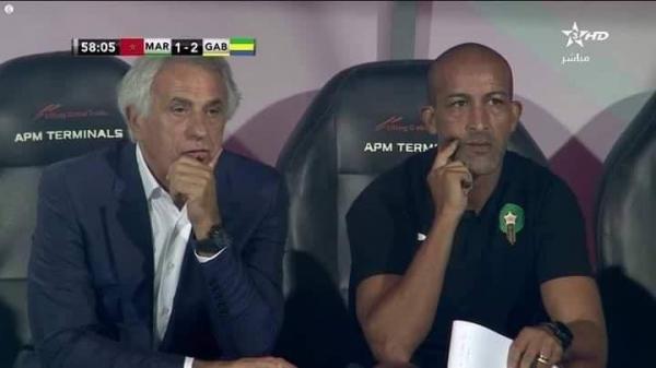 المنتخب المغربي بدون روح في مباراة الغابون