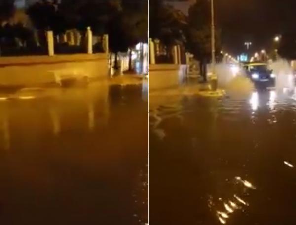 أمطار قوية تفضح هشاشة البنية التحتية لمدينة تطوان