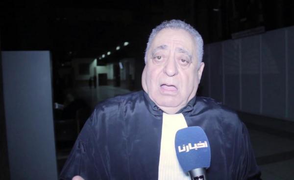 """توقيف المحامي """"محمد زيان"""" عن ممارسة المهنة لمدة سنة"""
