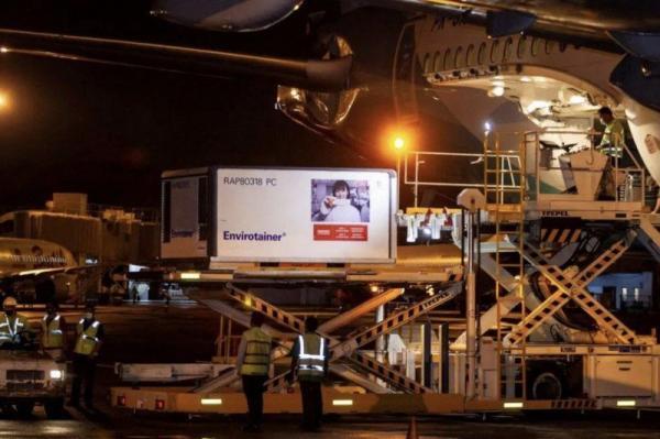 """عاجل...طائرة تابعة للخطوط الملكية المغربية تتجه اليوم نحو الهند لجلب أول شحنة من لقاح """"كورونا"""""""