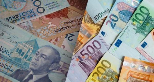 انخفاض الدرهم مقابل الأورو بـ0,66 في المائة