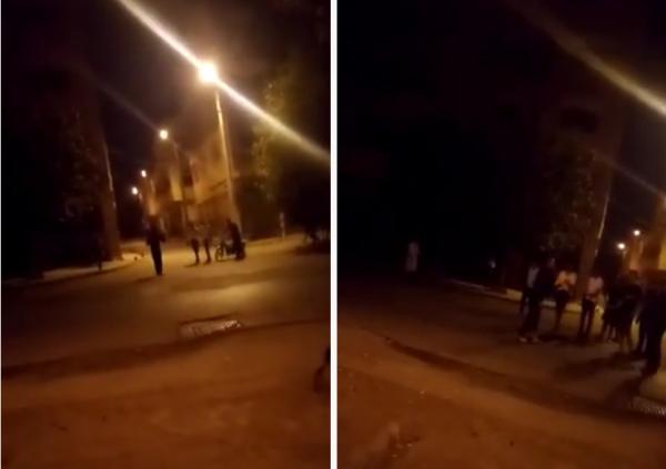 شاب يظهر في فيديو يعربد بسيف ويكسر مجموعة من السيارات والأمن يوضح ملابسات الواقعة (فيديو)