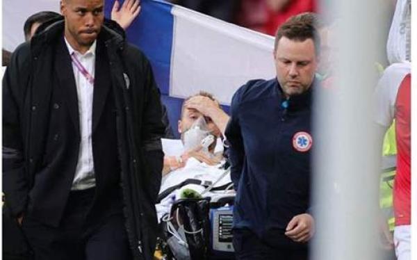 عاجل.. أخبار مطمئنة بشأن الحالة الصحية للاعب الدنماركي كريستيان إريكسن