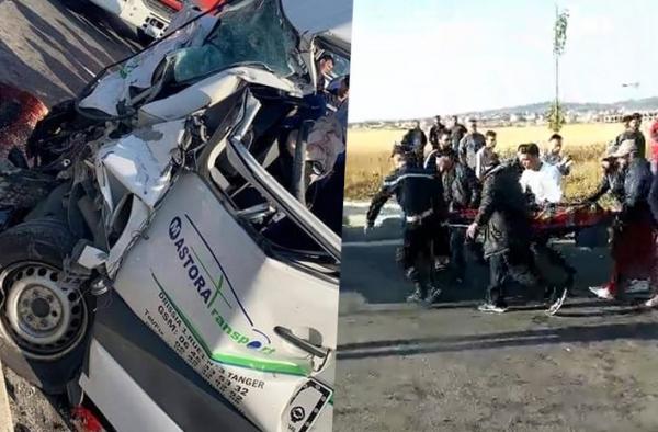 عاوتاني...طرق طنجة تزهق الأرواح مجددا بعد حادث سير مأساوية