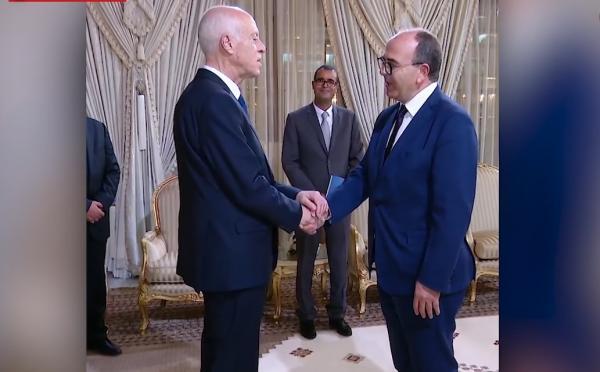 الرئيس التونسي قيس سعيد يستقبل المالكي وحكيم بنشماش بقصر قرطاج