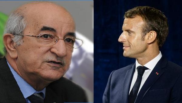 """""""تبون"""" في أول تعليق: لن أجيب """"ماكرون"""" على ما قاله..ولا أعترف إلا بالشعب الجزائري"""