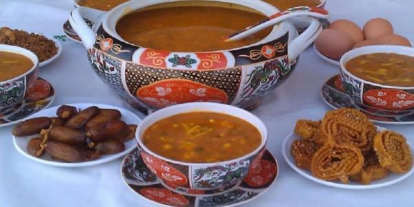 """طريقة تحضير حساء """"الحريرة"""" الرمضاني"""