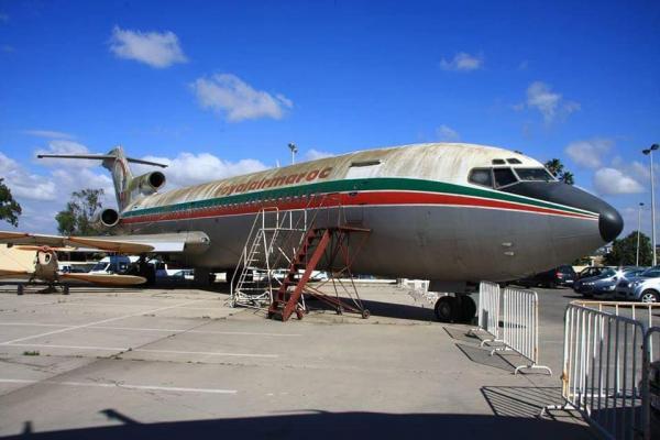 صورة نادرة: الطائرة التي كان على متنها الحسن الثاني والتي حاول الانقلابيون إسقاطها