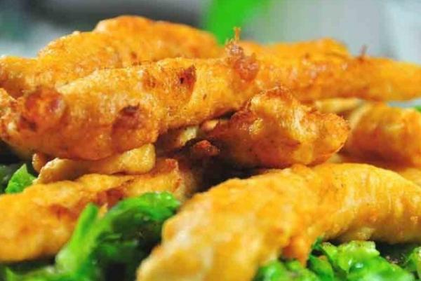 طبق دجاج من المطبخ الياباني