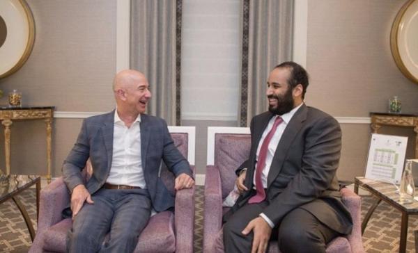 هل يقف محمد بن سلمان وراء اختراق هاتف رئيس أمازون؟