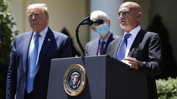 """هل فعلها """"السلاوي"""" ... """"ترامب"""" يؤكد أن لقاح كورونا سيكون جاهزاً في غضون 4 أسابيع"""