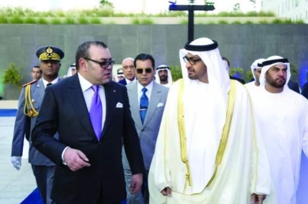"""في مؤشر على عودة الدفء إلى العلاقات بين البلدين...الملك """"محمد السادس"""" يتباحث مع ولي عهد أبو ظبي"""