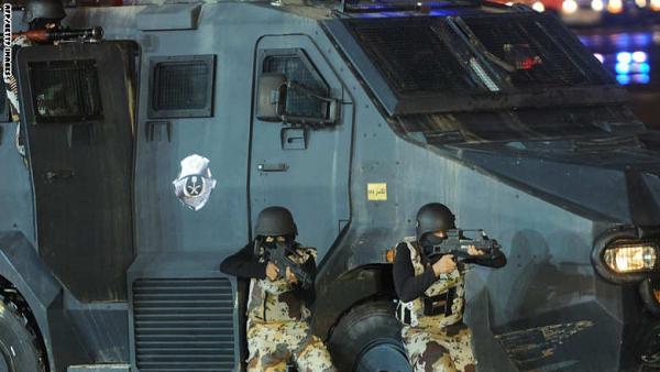 إحباط هجوم إرهابي على مركز مباحث شمال الرياض