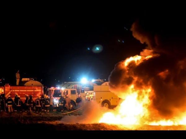 ارتفاع حصيلة الحريق في أنبوب للنفط بالمكسيك إلى 66 قتيلا و76 جريحا