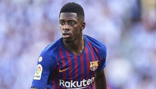 """صحيفة إسبانية تكشف عن موعد عودة """"ديمبيلي"""" لبرشلونة"""