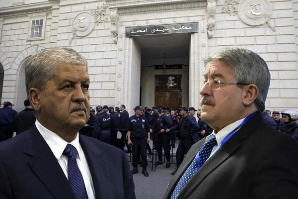 القضاء الجزائري يقول كلمته الأخيرة  في حق رئيسي وزراء سابقين