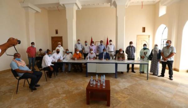 """مراكش: انتخاب """"البامي"""" محمد شقيق رئيسا للمجلس الجماعي لواحة سيدي ابراهيم"""